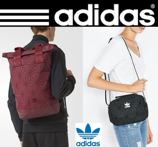 Buy Original Adidas 3D Roll Top Backpack and Mini Airliner Bag(Comes with  Adidas Receipt) Deals for only S 199 instead of S 0 12abfd1d4d