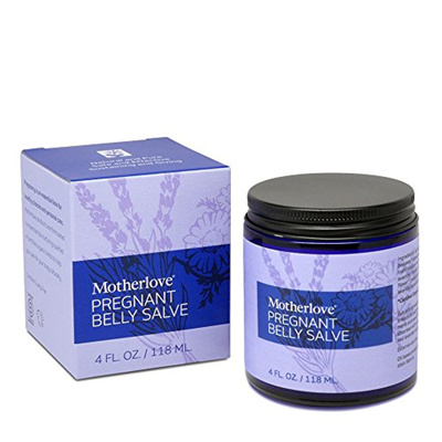 4e7279d5eb642 Motherlove Pregnant Belly Salve with Organic Shea Butter for Stretch Mark  Prevention, 4 oz Jar