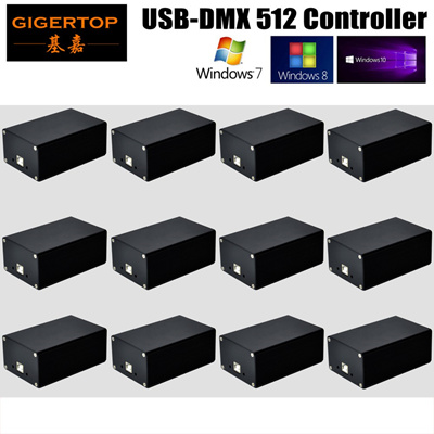 Fast shipping Quman DMX 512 Led Stage Light PC Controller Software New  Version HD 512 Box Avolites P
