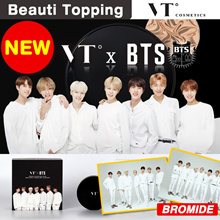 [VT X BTS] Collagen Pact Edition / Bangtan Boys Cushion Pact + Sticker + BTS Box - 2 Colors Package
