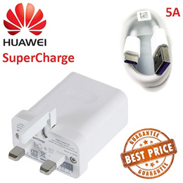 Huawei Original SuperCharge P10 P20 Pro Mate 10 / 20 Charger and Fast Charge Adapter Cable