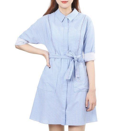 オンエンオンカジュアルSTワンピースNW7MO752ベルト 面ワンピース/ 韓国ファッション