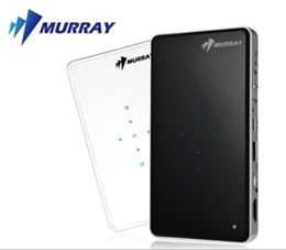 [Murray] SB-1000 100Ansi Portable DLP Mini Beam Pico Projector BlackWhite