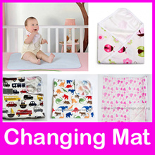 Diaper Changing Mat Pad / Baby Cot Sheet / Waterproof Breathable Mattress Bed Protector/ Foldable