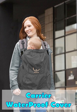 💖 Baby Carrier Rain Cover Protector 💖 Rain Coat 💖 Wind Proof/ Rain Shield/ Hood/ Cape/ Cloak