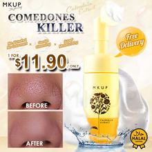 MKUP® Calendula Deep Pore Cleansing Mousse