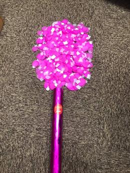 60cm Party Popper Cherry Blossom Petals