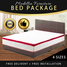 [No.1 GROUPBUY Bed Packages] Mattress Only Available!!!  Bed Mattress Bedframe SINGLE QUEEN KING