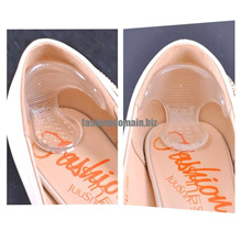 1Pair Gel Pads For Feet Silicone Pads For Shoes Soft Gel Insoles Heel Protect Orthopedic Insoles Pai