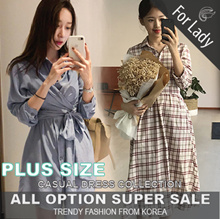 20th Sep Update New Arrivals ♥Korean Style♥ Linen / Casual / LOOSE Fit / Dress / Plus Size