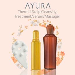[Cheapest!] Ayura Thermal Scalp Cleansing Treatment /Bikassa Scalp Serum/Scalp Massager