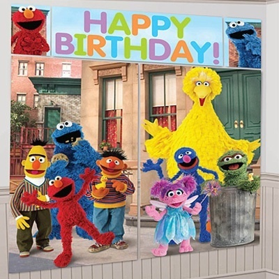 Sesame Street Theme Party Decoration Balloons Elmo Supplies