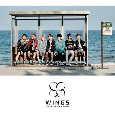 (Free Shipping) (Poster) (Bangtan Boys / Bulletproof Boys) BTS You Never  Walk Alone (KPOP Korean IDO