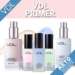 [vdl] primer collection/lumilayer primer/fresh/color correcting primer