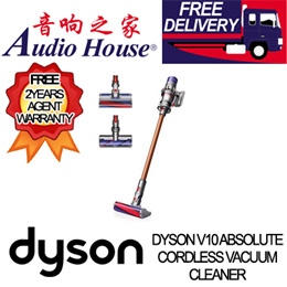 DYSON V10 ABSOLUTE CORDLESS VACUUM CLEANER / FREE 2 Years Warranty