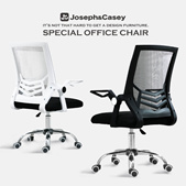 「New」Pulley Chair/OFFICE CHAIR / HOME OFFICE CHAIR / COMFORTABLE / ADJUSTABLE / WITH WHEELS