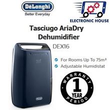 ★ Delonghi DEX16 Dehumidifier ★ (1 Year Singapore Warranty)