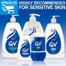【QV】FOR SENSITIVE SKIN★QV Wash/Gentle Wash/Skin Lotion/Cream[1 litre/500ml]