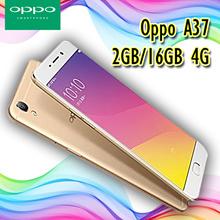 Oppo A37 16GB 4G Gold [ Garansi 1 Tahun ]