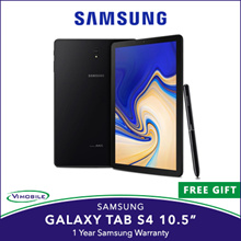 Samsung Galaxy Tab S4 10.5 LTE 64GB (Free Keyboard) / Local set 1 year warranty