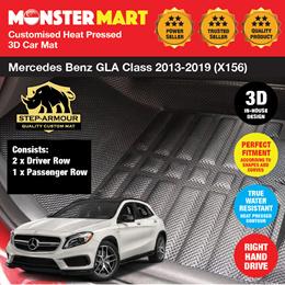 Customized For B enz GLA CLA Class A//B Interior Armrest Storage Box Holder,Armrest Organizer Tray With Anti-Slip Mat
