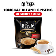 [20 Sachets] Alicafe 5in1 Premixed Coffee with Tongkat Ali and Ginseng Power Root