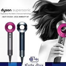Dyson Supersonic Hair Dryer - Multi Colour (Pink / Black / White / Purple) - 2 Year Warranty