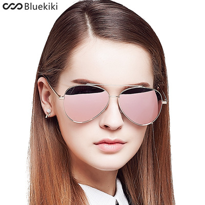 KIKI Women Polarized Sunglasses Aviator Driving Gold Metal Steampunk  Eyewear Oculos De Sol Feminino 40d8c910b3
