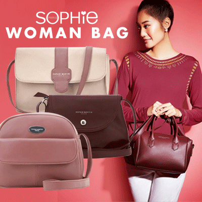 PROMO TAHUN BARU TAS SOPHIE PARIS DISCOUNT UP TO 50% Deals for only Rp198.900 instead of Rp198.900