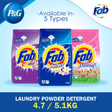[PnG] FAB Laundry Powder Detergent 4.7/5.1kg / Washing / Clothes / Fabric / Different Types /