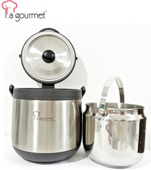 La gourmet Thermal Cooker (FREE 2 Pcs of KOREA Toothbrushes worth S$ 15.80)