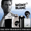 Perfume Starwalker MontBlanc for men EDT spray 75 ml / LEGEND 100 ML / EMBLEM 100 ML FRAGRANCE / LEGEND INTENSE 100ML