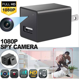 HD 1080P Spy Hidden Camera USB Wall Charger Adapter Video Recorder Security Cam 64GB