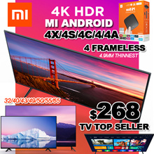 【SG】TOP TV SELLER ❤ Smart XIAOMI Android TV 32 43 50 55inch except V4 55inch / LOCAL 1 YEAR WARRANTY