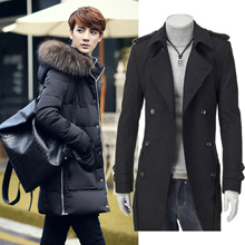 2017 PROMOTION!!!High Quality Euro Style Men Jacket / Winter Coat