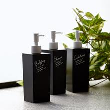 Francfranc Tisa Dispenser Body soap S Black