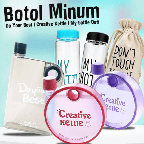 Botol Minum Do Your Best | Creative Kettle | My bottle Doff Deals for only Rp31.500 instead of Rp31.500