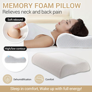 ⭐New Arrival⭐Memory Foam Pillow/Ergonomic Design Relief For Neck Pain/Migraine Headaches! Sleep Aid