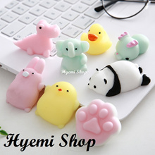 [Hyemi Shop] De-stress Squishy Mini Cute Animal Toys. Anti Stress Relief. Relax. Fun. Toy.