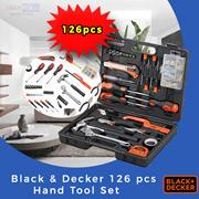 【Black and Decker】Hand Tool Set (126 pcs) BMT126C -  A great kit for home and office!