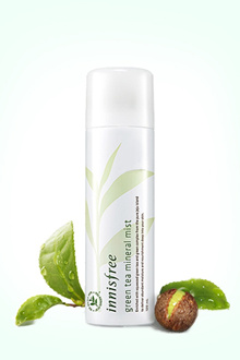 Korea Innisfree Yue poetic style yin green tea mineral hydrating moisturizing Fixed Makeup spray