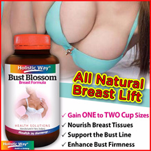 💥4 DAYS SPECIAL!😍UPSIZE Your Cup👙[Holistic Way]Bust Blossom 60 VegeCaps. Natural Product of NZ💥
