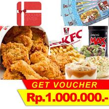 Voucher KFC Rp.1.000.000