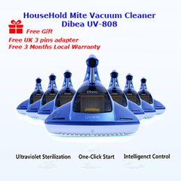 Promotion Offer! Dibea UV-808 Household Anti Dust Mite UV Vacuum Bed Cleaner. Fast Delivery..