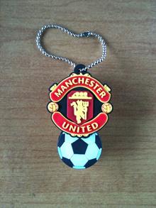 Manchester United Crest Black Novelty USB Thumb Flash Drives 8GB Thumbdrive Car Keys EPL
