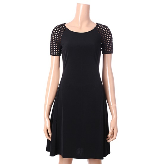 アルマーニエクスチェンジ女性ラウンドネックワンピース1427421504 面ワンピース/ 韓国ファッション