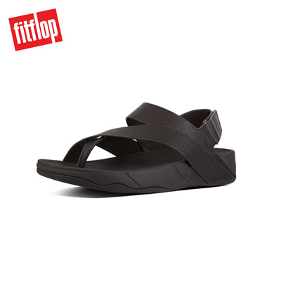 ef313e6a82fc9c Qoo10 - Fitflop™ Sling Perf Mens Leather Sandal Chocolate   Men s ...