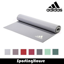 Adidas Yoga Mat ADMT-10400 * 4mm thick * Easy to wipe clean and roll up for storage