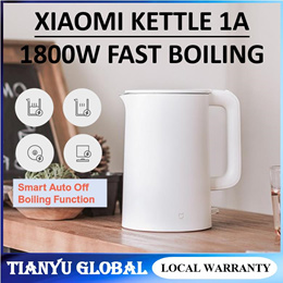 XIAOMI MIJIA Electric Kettle 1A Fast Hot boiling Stainless Water Kettle Teapot