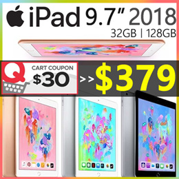 🔥 MAKE - $379!! 🔥 Apple iPad 9.7 inch (Wi-Fi 32GB) 6th Generation (2018)  FULL 1 YEAR WARRANTY
